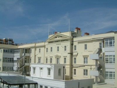 Royal Sussex County Hospital Brighton
